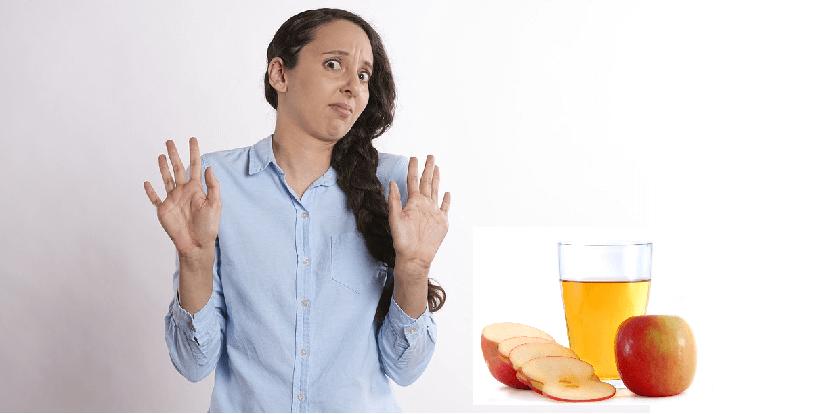 is apple cider vinegar mole removal safe