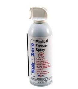 Skin tag freeze spray